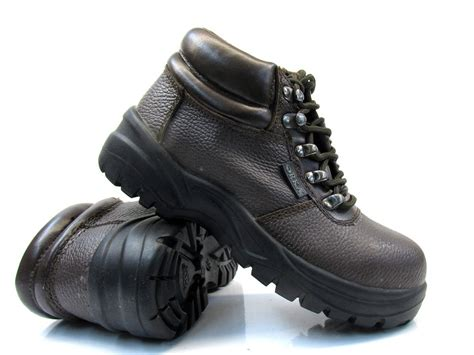 steel toe shoes for flat chukka safety work boots with steel toe cap womens