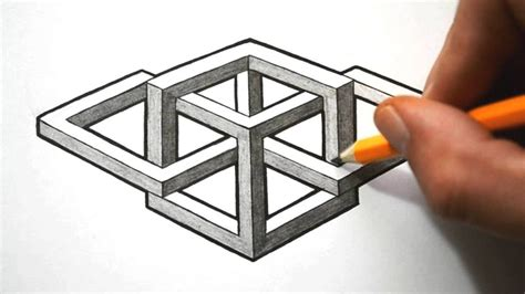Cool 3d Shapes To Draw