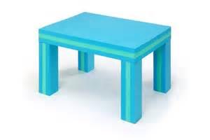 offi foam table blue green of eva227 homelement
