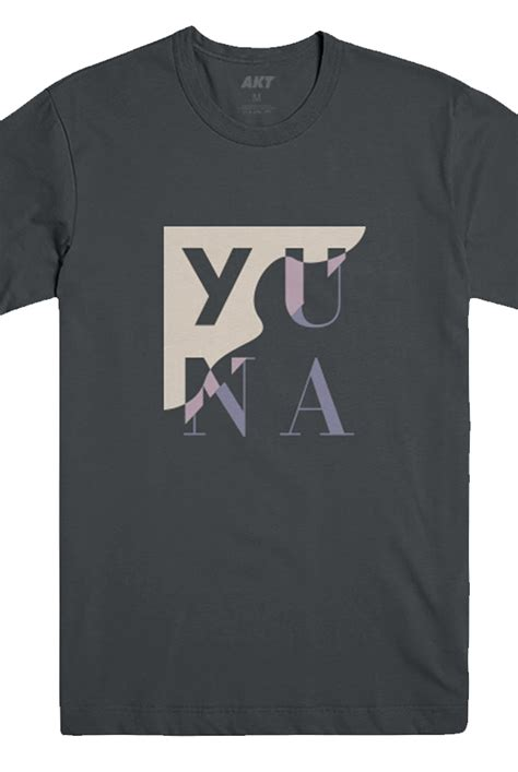 Yuna Shirt compartments charcoal t shirt yuna t shirts