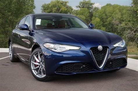 alfa romeo giulia lease edmunds 2017 alfa romeo giulia awd lease offer at mike ward alfa romeo