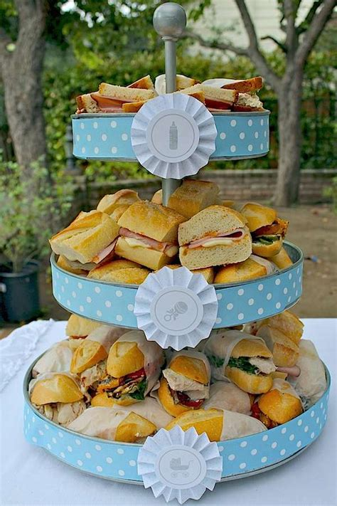 Tea Sandwiches For Baby Shower by Kara S Ideas Shake Rattle Roll Boy Baby Shower