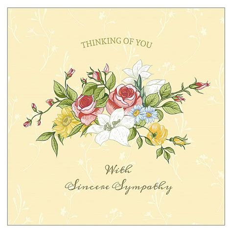 funeral flower card templates free printable sympathy cards with customized messages