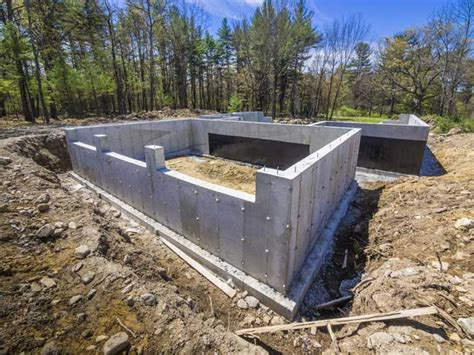 new home foundation basement foundation construction home design