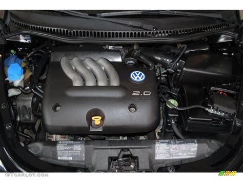 new volkswagen beetle engine 1999 volkswagen new beetle gls coupe 2 0 liter sohc 8