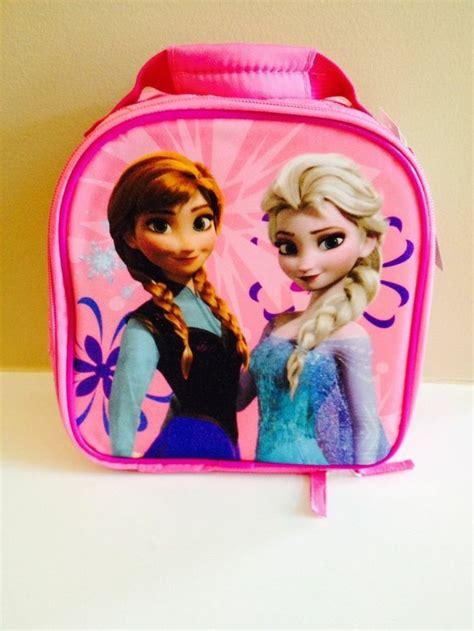 Disney Frozen Lunch Box Pink disney store frozen and elsa school lunch box tote