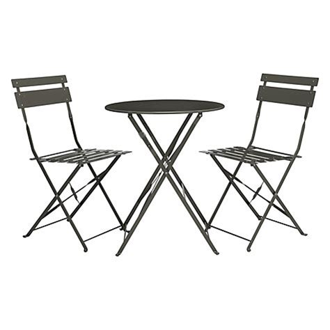 Buy Garden Table And Chairs Buy Lewis Brighton Bistro Outdoor Table Chair Set