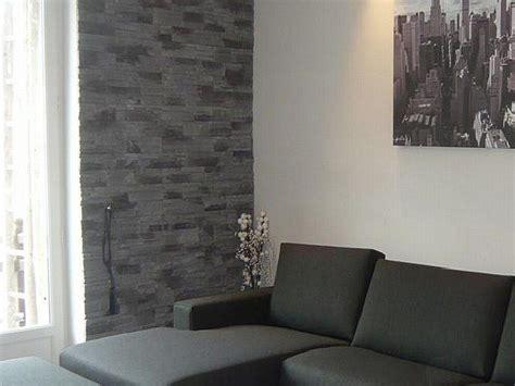 parete soggiorno in pietra parete soggiorno in pietra idee per interni e mobili