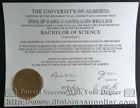 Mba Without A Degree Canada by Of Alberta Degree How To Buy It