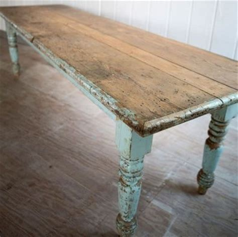 Rustic Dining Table  painted With Chalk Paint   Pretoria