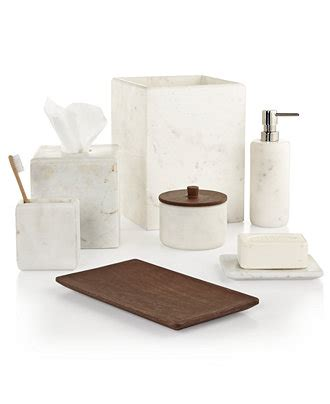 Bathroom Sets At Macy S Hotel Collection Marble Bath Accessories Only At Macy S