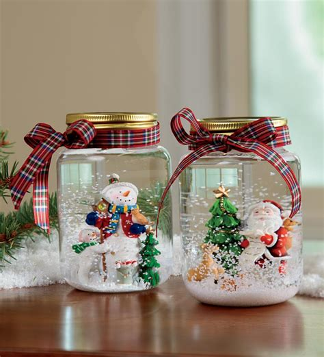 decorations accessories snowman and santa glitter lovely