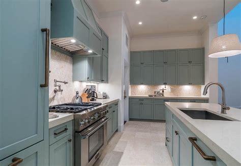 blue kitchen cabinet knobs transitional kitchen benjamin moore cloud white
