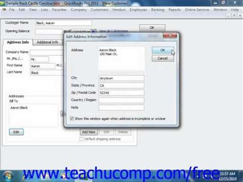 quickbooks jobs tutorial quickbooks 2011 2006 tutorial the customers jobs tab