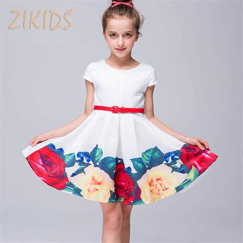 casual cute fashion floral print model image 200779 aliexpress com buy girls summer dress cute casual print