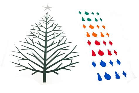 the amazing 2d christmas tree the gift of cuttable