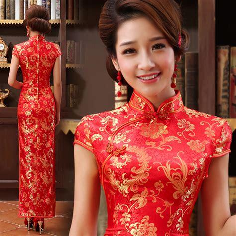 film mandarin lavender mandarin collar gold red long traditional chinese wedding