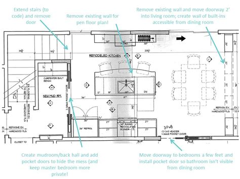 kitchen dining design layout plans