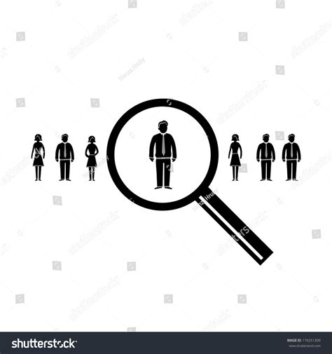 icon design research vector abstract market research icon pictogram stock