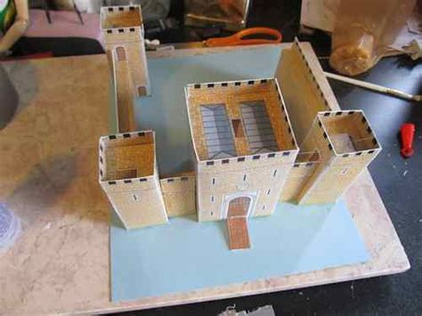 How To Make A Paper Castle Easy - the easy to make paper castle