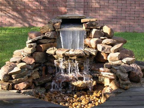 building a backyard waterfall backyard waterfalls and ponds to beautify your outdoor decor