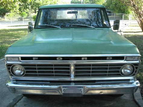 1973 Ford Truck by All Original 1973 Ford F100 Truck W Cer Shell