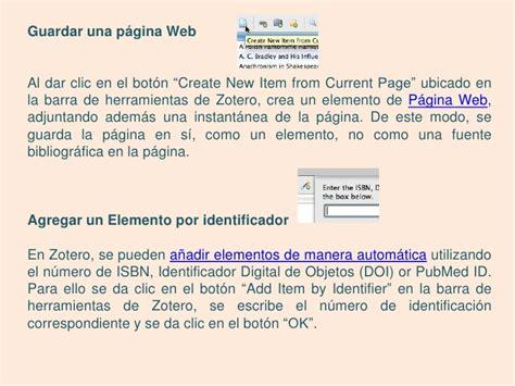 tutorial de zotero en español tutorial zotero