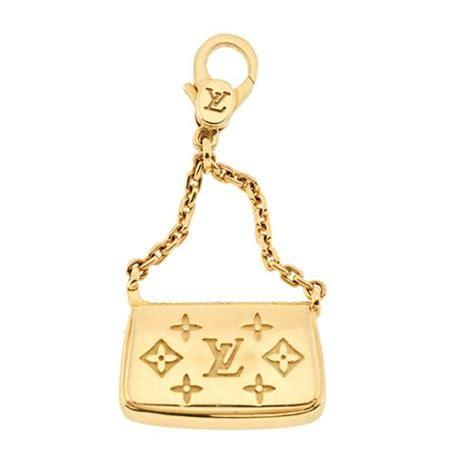 Louis Vuitton Charm de Monogram 18K Gold Handbag Charm