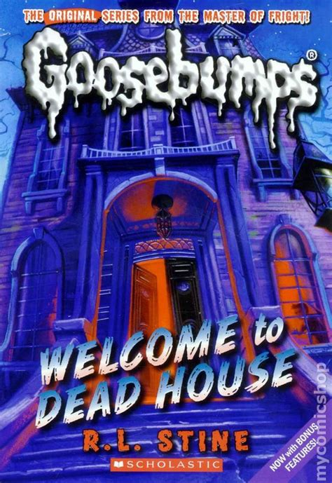 welcome to dead house comic books in classic goosebumps