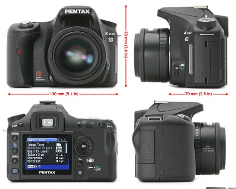 pentax digital reviews pentax k100d review digital photography review