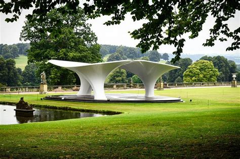 zaha hadid house design zaha hadid pavilion at chatsworth house e architect