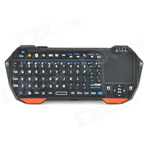 Seenda Universal Bluetooth Touchpad Keyboard Win All Phone Ios Android seenda is11 bt05 mini bluetooth v3 0 77 key keyboard w touchpad orange black free