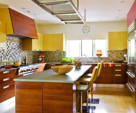 colorful yellow kitchen color inspiration 15 bright and cozy yellow kitchen designs rilane