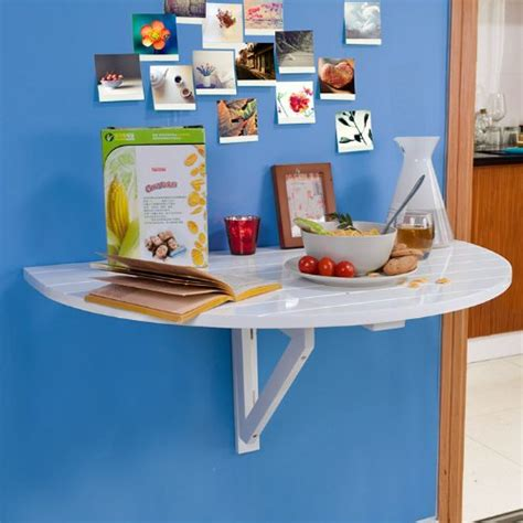 table de cuisine pliable table murale rabattable en bois table de cuisine pliable