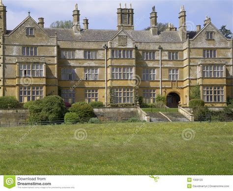 home batsford stately home stock photo image