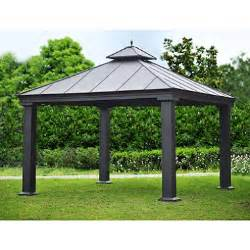 8 Ft Hardtop Gazebo by Royal Hardtop Gazebo 12 X 12 Sam S Club