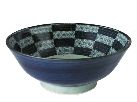 Green Kitchen Canisters navy blue and pale green floral patchwork japanese noodle bowl
