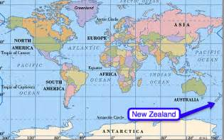 Where Is New Zealand On A World Map by Kids With A View Where Is New Zealand