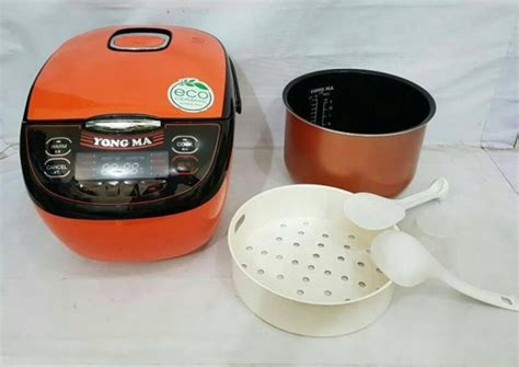 Yongma Magic Ymc206 2 Liter Murah jual yong ma digital orange rice cooker ymc 3700 magic yong ma kapasitas2 liter elektronik