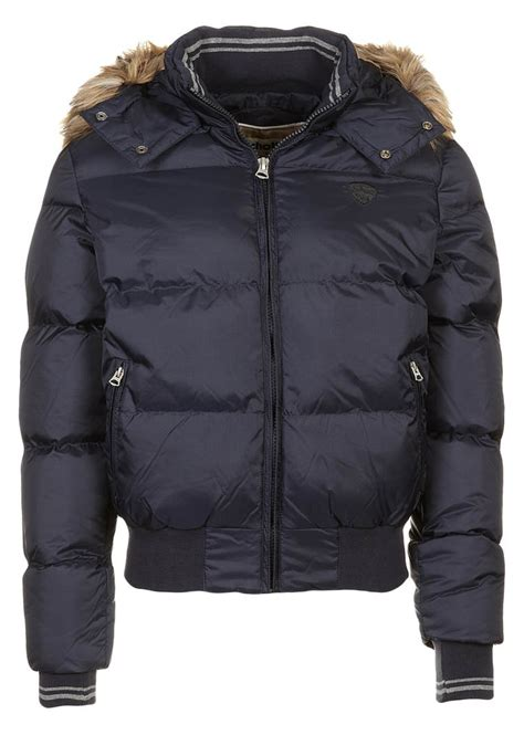 Jaket Sc 01 Navy schott nyc winter jacket navy zalando co uk