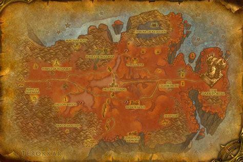 Wow Razorthorn Shelf by Hellfire Basin Wowwiki