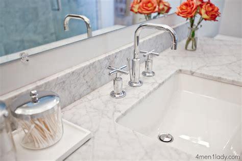 the granite gurus carrara marble bathroom the granite gurus 4 men 1 lady carrara marble master