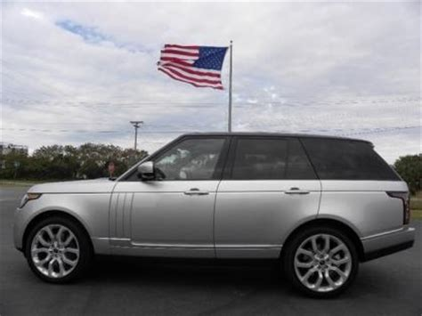 dark silver range rover export used 2013 land rover range rover supercharged
