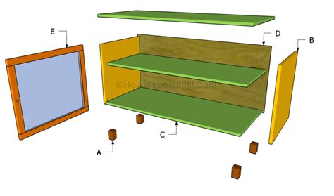woodwork build  tv stand plans  plans