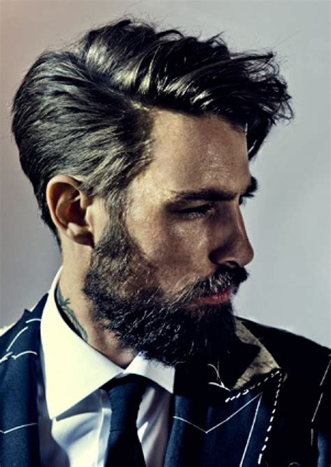 hairstyles guys can t resist good hair and beard very few men are able to pull this
