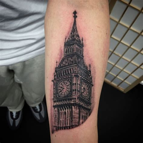 big tattoos big ben tattoos askideas
