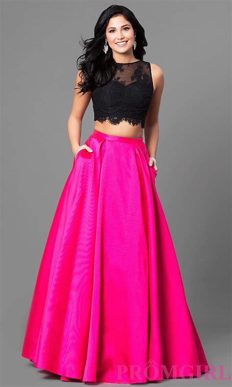 Dress Pesta Fuchia prom dresses evening gowns promgirl te 6100