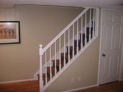 basement stair railing ideas home ideas design for the