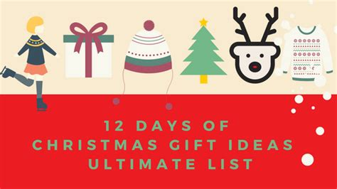 images of 12 days of christmas gift ideas for kids