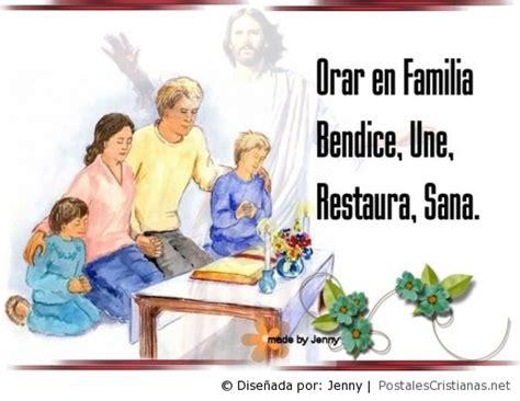 imagenes de la familia rezando postal orar en familia bendice une restaura y sana
